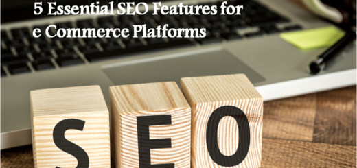 5 Essential SEO Features for eCommerce Platform